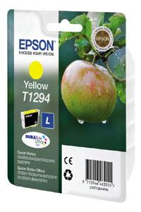 Original Cartouche d'encre jaune originale Epson Stylus Office BX 925 FWD