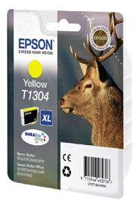 Original Cartouche d'encre jaune originale Epson WorkForce 525