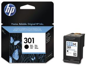 Original Cartouche d'encre noire originale ID-Fabricant: No. 301, CH561EE HP DeskJet 2050