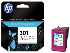 Original Cartouche d'encre couleur originale ID-Fabricant: No. 301, CH562EE HP DeskJet 2050