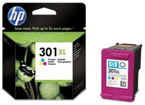 Original Cartouche d'encre couleur originale ID-Fabricant: No. 301XL, CH564EE HP DeskJet 2050