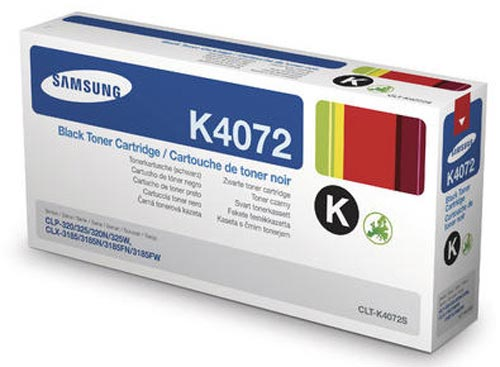 Original Cartouche de toner noir originale ID-Fabricant: CLT-K4072 Samsung CLP-320 N