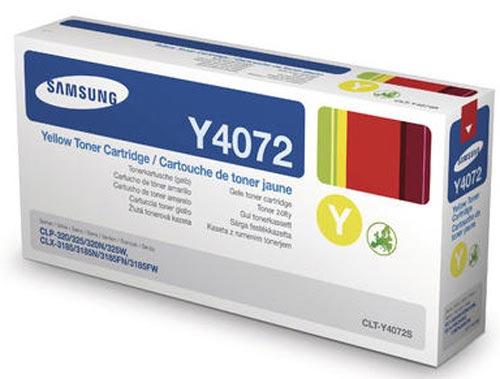 Original Cartouche de toner jaune originale ID-Fabricant: CLT-Y4072 Samsung CLP-320 N