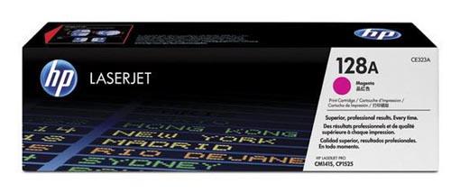 Original Cartouche de toner magenta originale ID-Fabricant: No. 128A, CE323A HP LaserJet Pro CP 1525