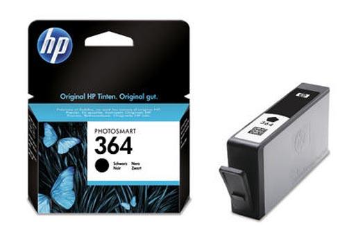 Original Cartouche d'encre noire originale, ID-Fabricant: No. 364, CB316EE HP PhotoSmart Premium C 410 Series