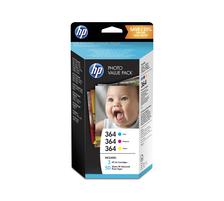 Original Photopack d'encre originale couleur, ID-Fabricant: No. 364, T9D88EE HP PhotoSmart eStation