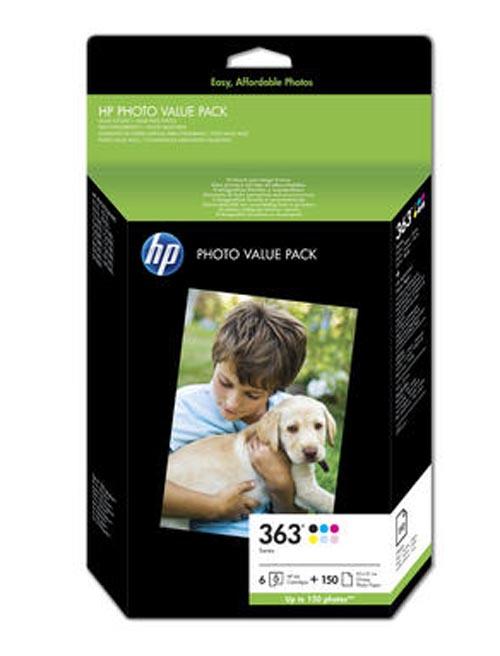 Original Encre originale paquet, 6-couleurs ID-Fabricant: No. 363, Q7966EE HP PhotoSmart 8250