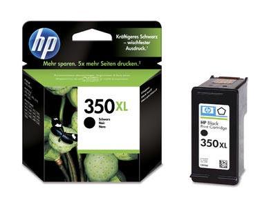Original Cartouche d'encre noire originale, ID-Fabricant: No. 350XL, CB336EE HP OfficeJet J 5780