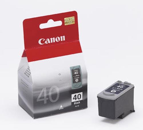 Original Cartouche d'encre noire originale ID-Fabricant: PG-40 Canon Pixma IP 1600