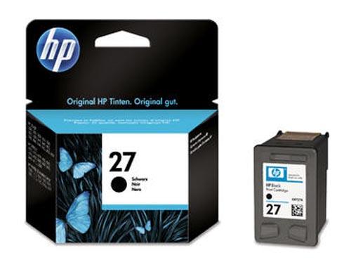 Original Cartouche d'encre noire originale, ID-Fabricant: No. 27, C8727AE HP PSC 1310