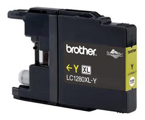 Original Cartouche d'encre originale jaune HY, ID-Fabricant: LC-1280 y Brother MFCJ 6510 DW