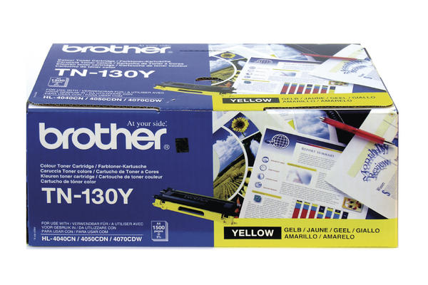 Original Cartouche de toner jaune originale ID-Fabricant: TN-135Y Brother HL-4040 CN