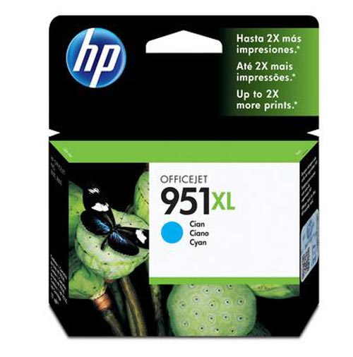 Original Cartouche d'encre cyan originale ID-Fabricant: No. 951XL, CN046AE HP OfficeJet Pro 251 dw