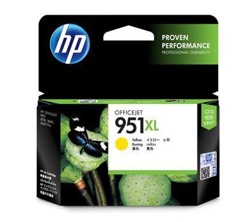 Original Cartouche d'encre jaune originale ID-Fabricant: No. 951XL, CN048AE HP OfficeJet Pro 251 dw