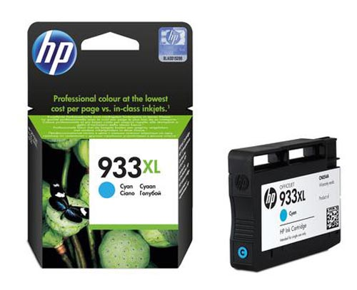 Original Cartouche d'encre cyan originale ID-Fabricant: No. 933XL, CN054AE HP OfficeJet 6700 Premium