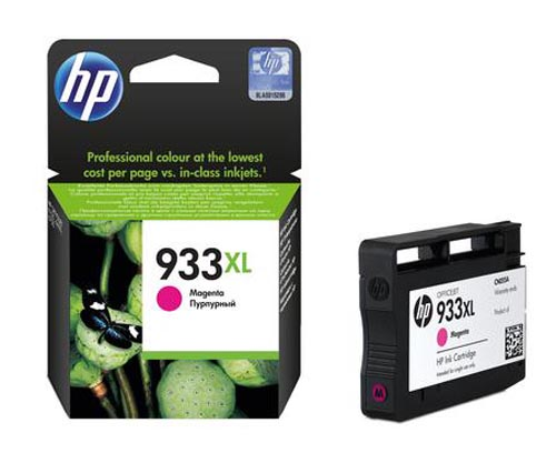 Original Cartouche d'encre magenta originale ID-Fabricant: No. 933XL, CN055AE HP OfficeJet 6700 Premium