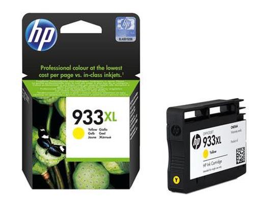 Original Cartouche d'encre jaune originale ID-Fabricant: No. 933XL, CN056AE HP OfficeJet 6700 Premium
