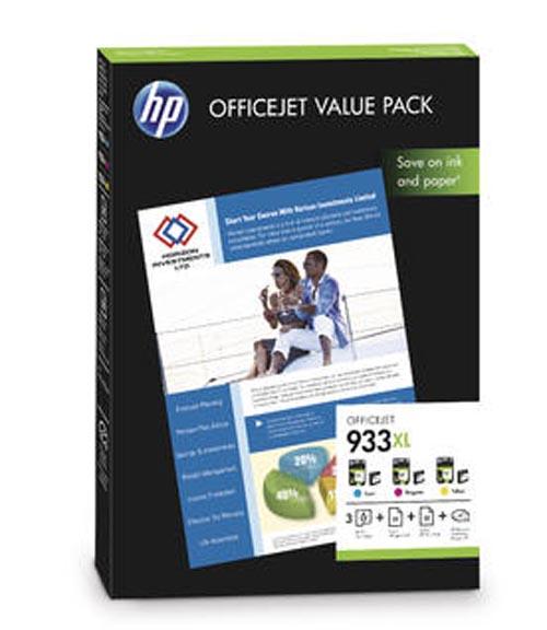 Original Encre originale paquet valeur couleur ID-Fabricant: No. 933XL, CR711AE HP OfficeJet 6700 Premium