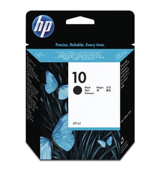 Original Cartouche d'encre noire originale ID-Fabricant: No. 10, C4844A HP Business InkJet 1000