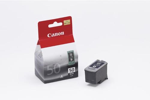Original Cartouche d'encre noire originale ID-Fabricant: PG-50 Canon Pixma IP 2200