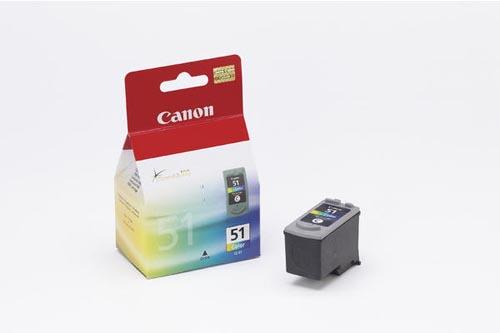 Original Cartouche d'encre couleur originale, ID-Fabricant: CL-51 Canon Pixma IP 2200