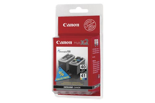 Original Multipack d'encre originale noire/couleur Canon Pixma IP 1600