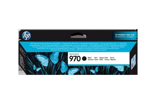 Original Cartouche d'encre noire originale ID-Fabricant: No. 970, CN621AE HP OfficeJet Pro X 576 dw