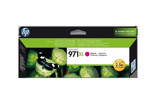 Original Cartouche d'encre magenta originale ID-Fabricant: No. 971XL, CN627AE HP OfficeJet Pro X 451 dn