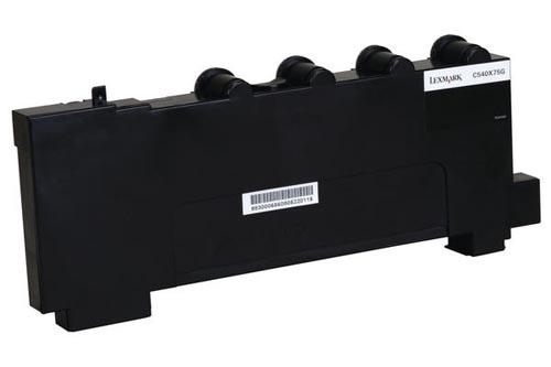 Original Boîte de toner usagé original Lexmark C 544 DN