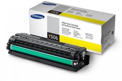 Original Cartouche de toner jaune originale ID-Fabricant: CLT-Y506S Samsung CLP-680 Series