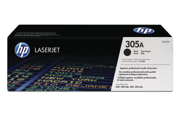 Original Cartouche de toner noir originale ID-Fabricant: No. 305A, CE410A HP LaserJet Pro 400 color M 451 dn
