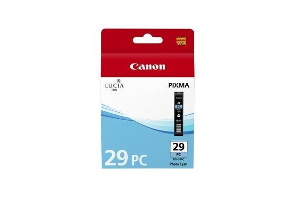 Original Cartouche d'encre photo cyan originale Canon Pixma Pro 1