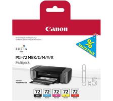 Original Cartouches d'encre Multipack originale MBK/CMY/R Canon Pixma Pro 10