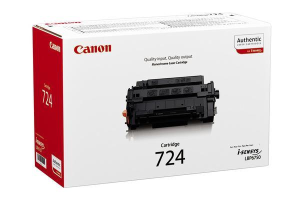 Original Cartouche de toner noir originale ID-Fabricant: CRG-724, 3481B002 Canon ISensys LBP-6750 dn