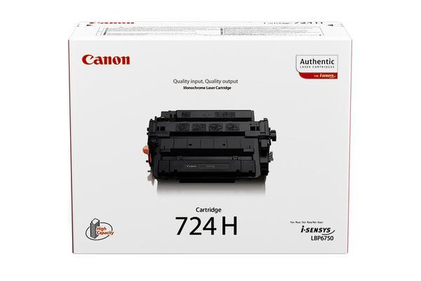 Original Cartouche de toner noir XL originale ID-Fabricant: CRG-724H, 3482B002 Canon ISensys LBP-6750 dn
