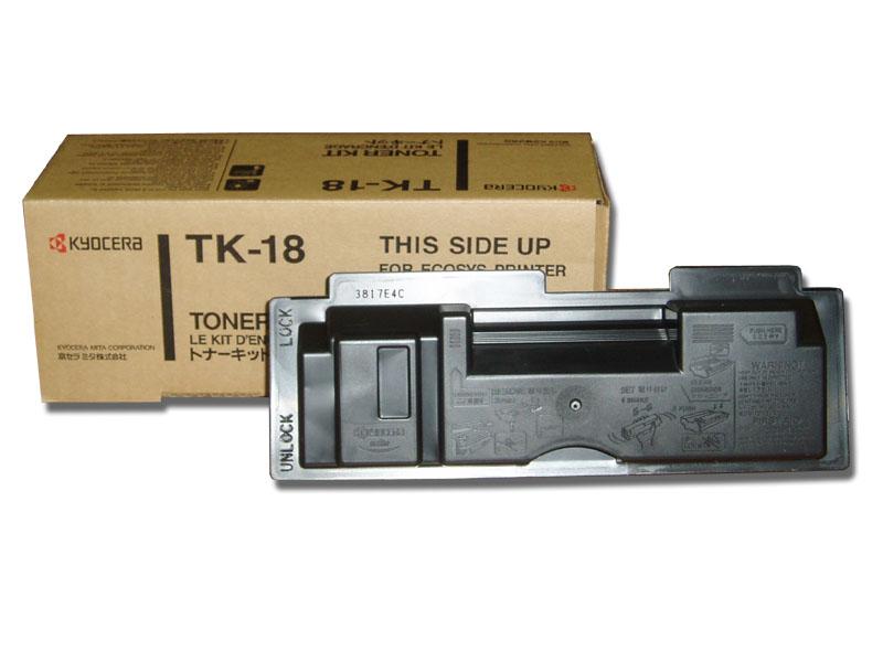 Original Cartouche de toner noir originale ID-Fabricant: TK-18 Kyocera FS-1020 Series
