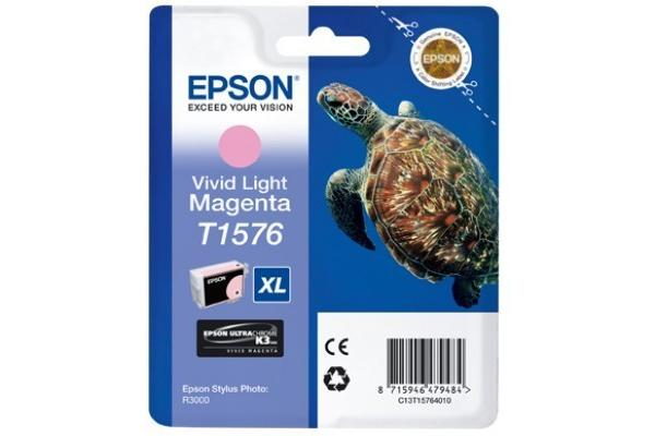 Original  cartouche d'encre light vivante magenta Epson Stylus Photo R 3000