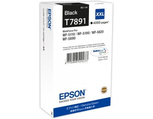 Original  Ink Cartridge XXL black ID-Fabricant: T789140 Epson WorkForce Pro WF-5110 DW