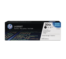 Original 2 cartouches toner original ID-Fabricant: CC530AD HP Color LaserJet CP 2027 Series