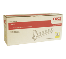 Original Pack tambour original, jaune ID-Fabricant: 43449013 OKI C 8600 N