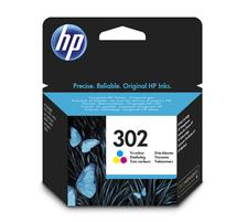 Original Cartouche d'encre couleur originale ID-Fabricant: No. 302, F6U65AE HP DeskJet 3630 Series