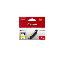 Original Cartouche d'encre jaune originale, XL ID-Fabricant: CLI-571, CLI-571XL y Canon Pixma TS 6050 Series