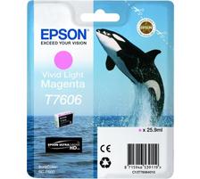 Original  cartouche vivante light magenta Epson SureColor SCP 600