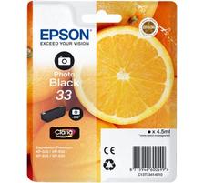 Original Cartouche d'encre photo noire originale ID-Fabricant: T334140 Epson Expression Premium XP-830