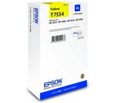 Original Cartouche d'encre jaune originale, XL ID-Fabricant: No. 755 Epson WorkForce Pro WF-8590 DTWFC