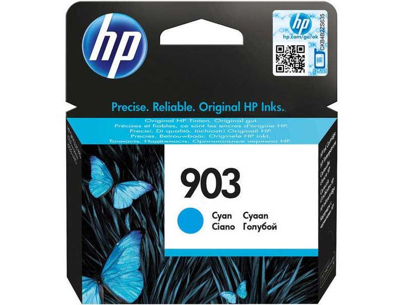 Original Cartouche d'encre cyan originale ID-Fabricant: No. 903, T6L87AE HP OfficeJet Pro 6975