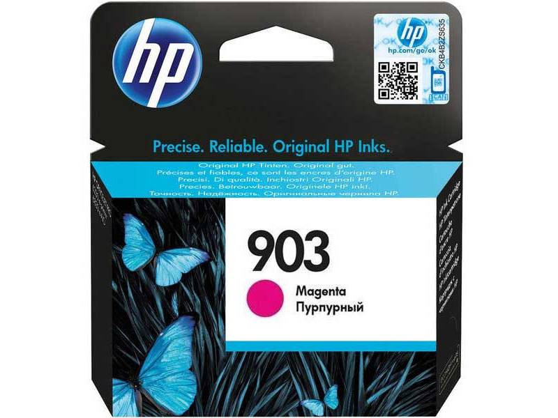 Original Cartouche d'encre magenta originale ID-Fabricant: No. 903, T6L91AE HP OfficeJet Pro 6975