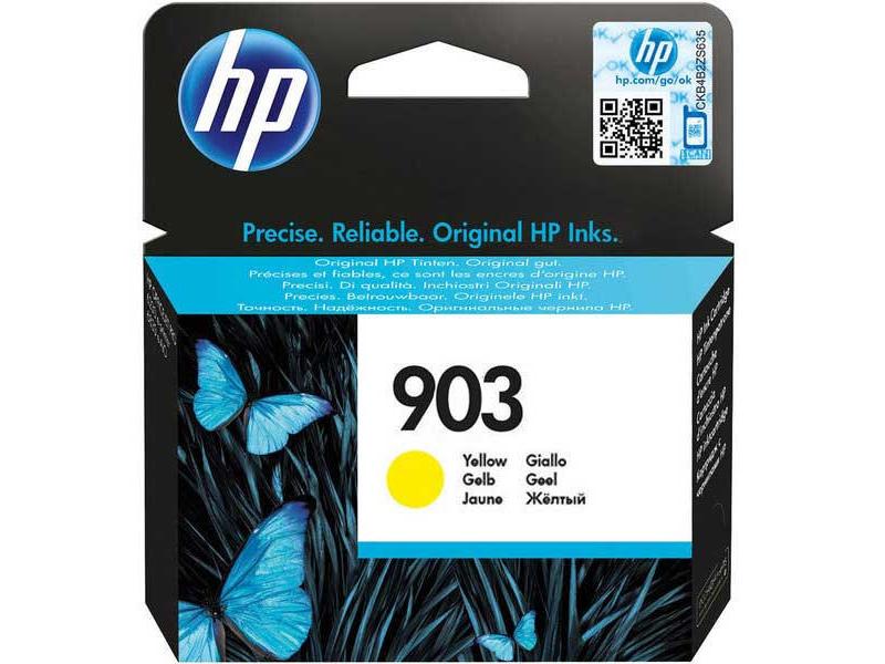 Original Cartouche d'encre jaune originale ID-Fabricant: No. 903, T6L95AE HP OfficeJet Pro 6975
