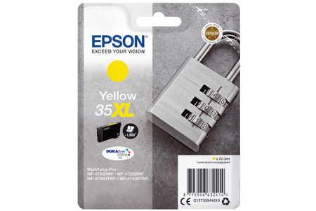 Original Cartouche d'encre jaune originale ID-Fabricant: No. 35XL, T359440 Epson WorkForce Pro WF-4735 DTWF