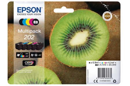 Original e cartouches d'encre Multipack NCMJ  ID-Fabricant: No. 202, T02E740 Epson Expression Premium XP-6000